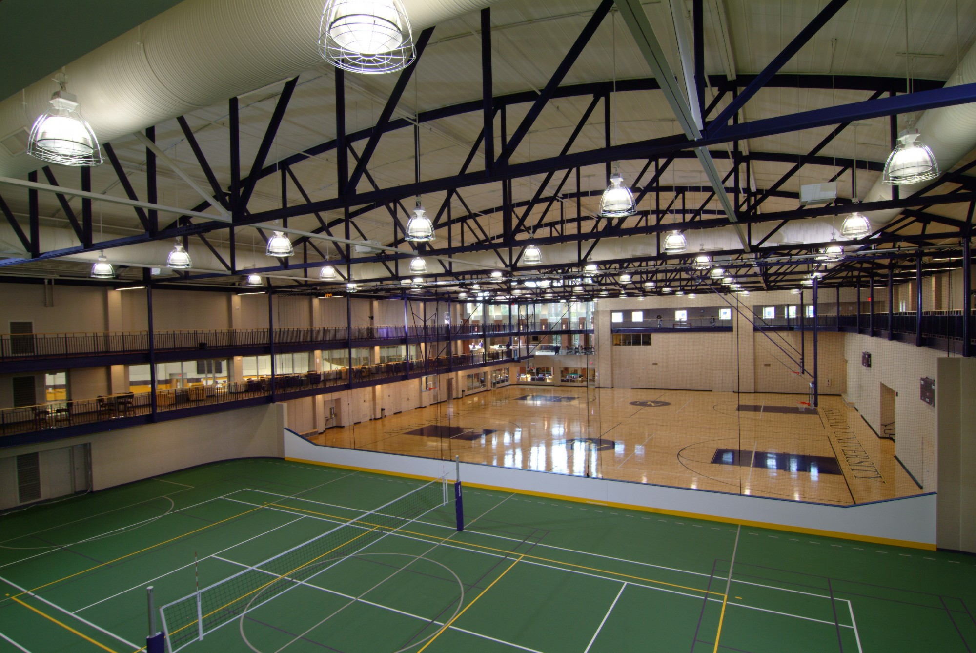 Ashland university the arthur l and maxine sheets rybolt for Racquetball court construction cost